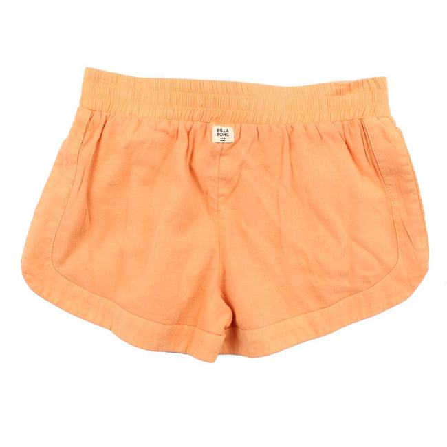 BILLABONG KIDS Big Girl Orange Mad For You Shorts