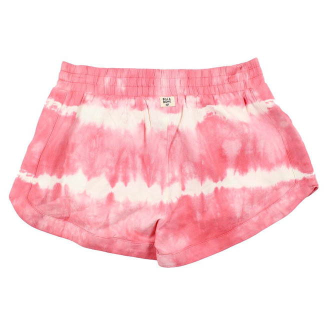 BILLABONG KIDS Big Girl Pink White Tie Dyed Mad For You Back