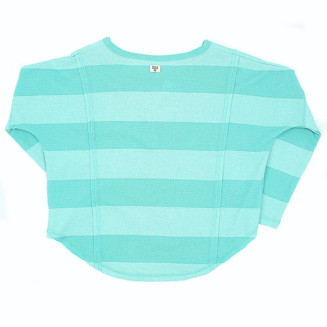 BILLABONG KIDS Big Girl Waffle Long Sleeve Tee Back