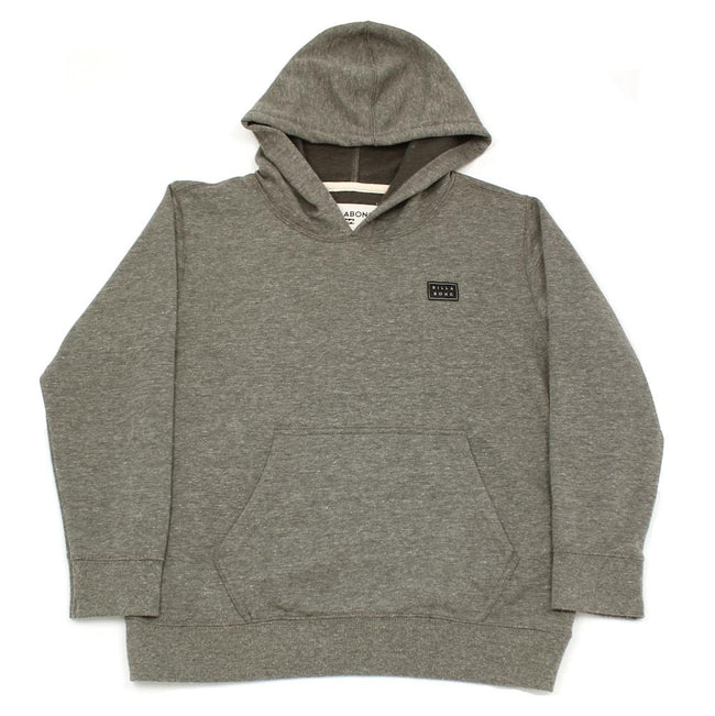 "BILLABONG Little Boy ""All Day"" Grey Pullover Hoodie"