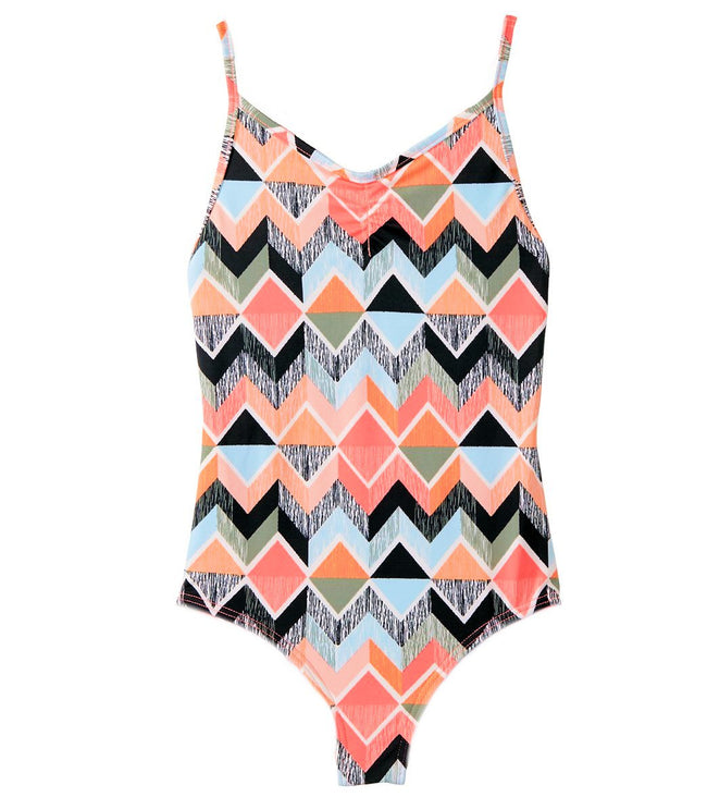 "Billabong Little Girl ""Zigginz"" One Piece Swimsuit"