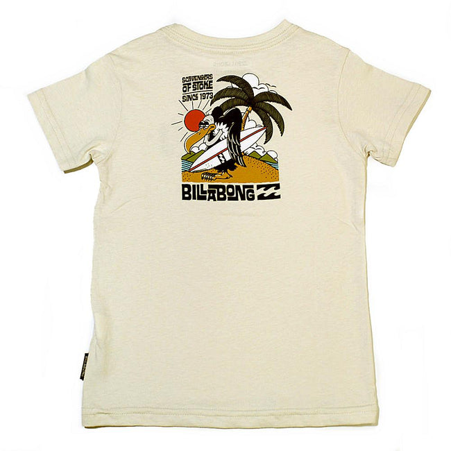 BILLABONG Scavenger Baby Boy Short Sleeve Tee Back