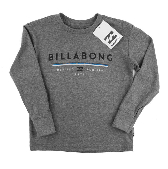 BILLABONG Team Wave Little Boy Long Sleeve Tee Shirt