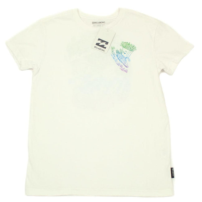 "BILLABONG KIDS Zenith ""Snacks 3 Shacks"" Little Boy Short Sleeve Tee Shirt."
