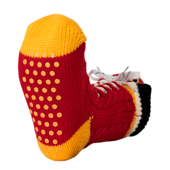 Calgary Flames Skate Slipper Socks