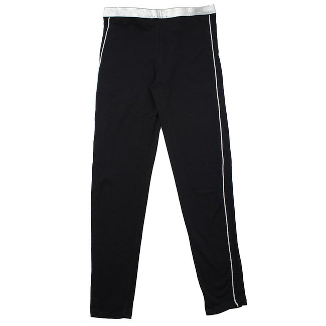 DEX KIDS Big Girl Black Pull On Activewear Pant Back