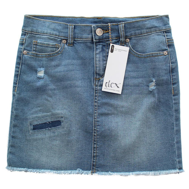 DEX KIDS Big Girl Denim Short Skirt Front
