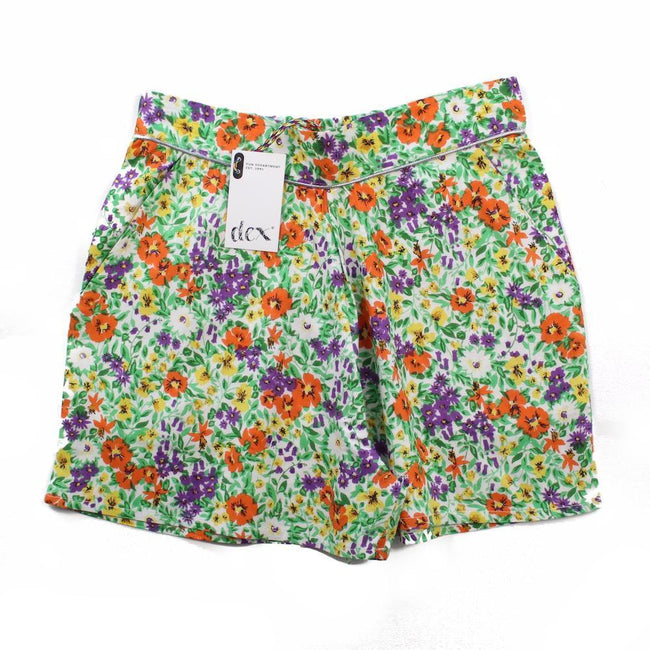 DEX KIDS Big Girl Floral Print Shorts Front