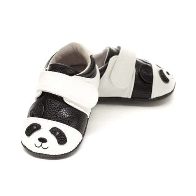 JACK & LILY Baby Boy or Girl Moccasin Panda Shoes Flynn