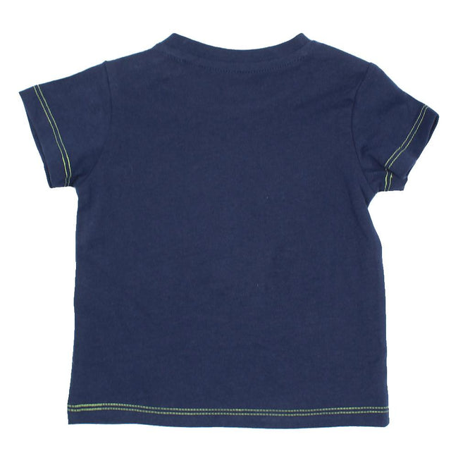 GUESS KIDSWEAR Baby Boy Short Sleeve Dark Blue T-Shirt Back
