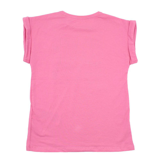 GUESS KIDSWEAR Preteen Girl Pink Short Sleeve T-Shirt