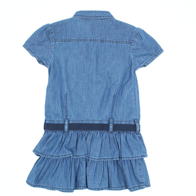 GUESS KIDSWEAR Little Girl Denim Dress Back