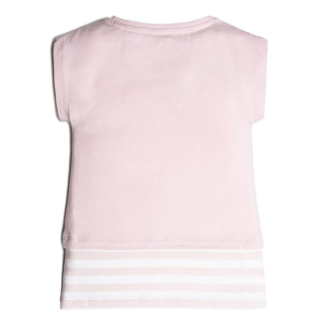 GUESS KIDSWEAR Little Girl Ice Cream Cones Layered Tee Shirt Back