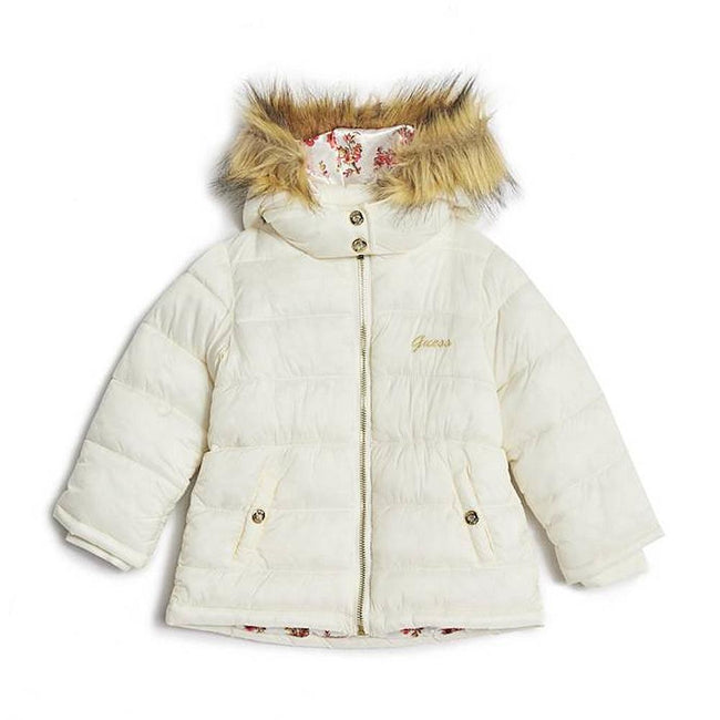 GUESS KIDSWEAR Little Girl Puffer Jacket