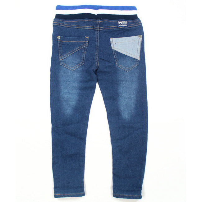 MID Little Boy Soft Blue Jeans Back
