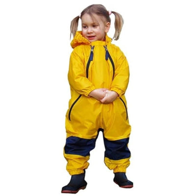 Yellow Muddy Buddy Tuffo Rainwear