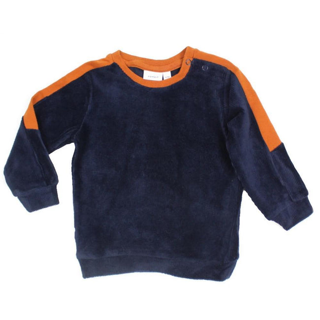 Name It Baby Boy Dark Sapphire Long Sleeve Sweater