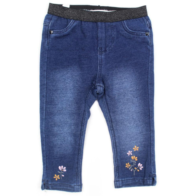 NAME IT Baby Girls ORGANIC Cotton Denim Leggings