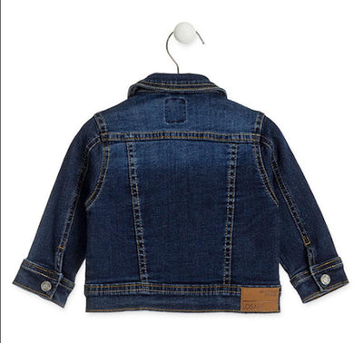 Losan Baby Boy Denim Fleece Jacket