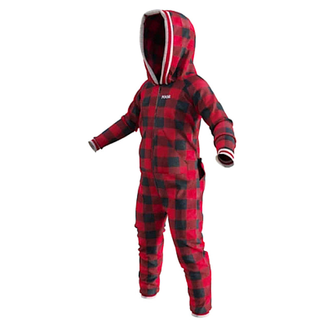 Pook Kids Onsie Red