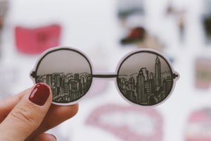 New York glasses