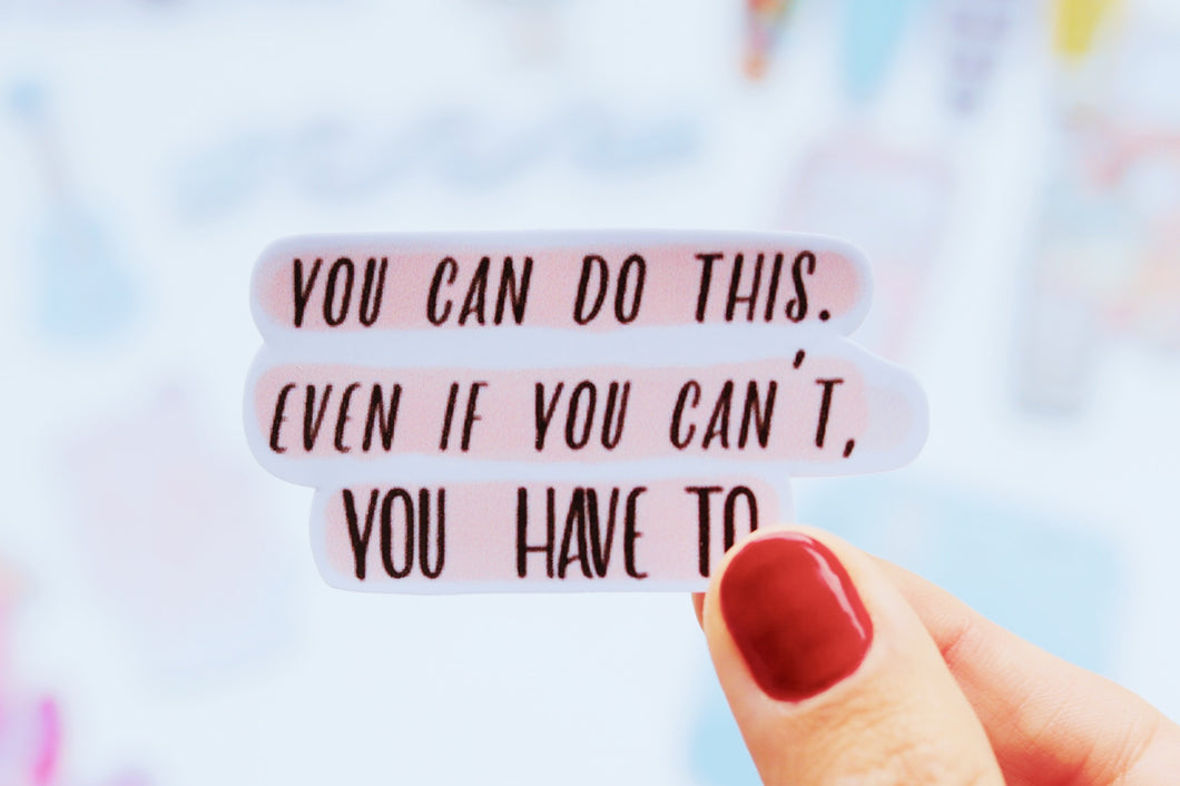 You can do this