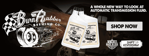 Burn Rubber Brewing Co , Synthetic Cider ATF, Burn Rubber