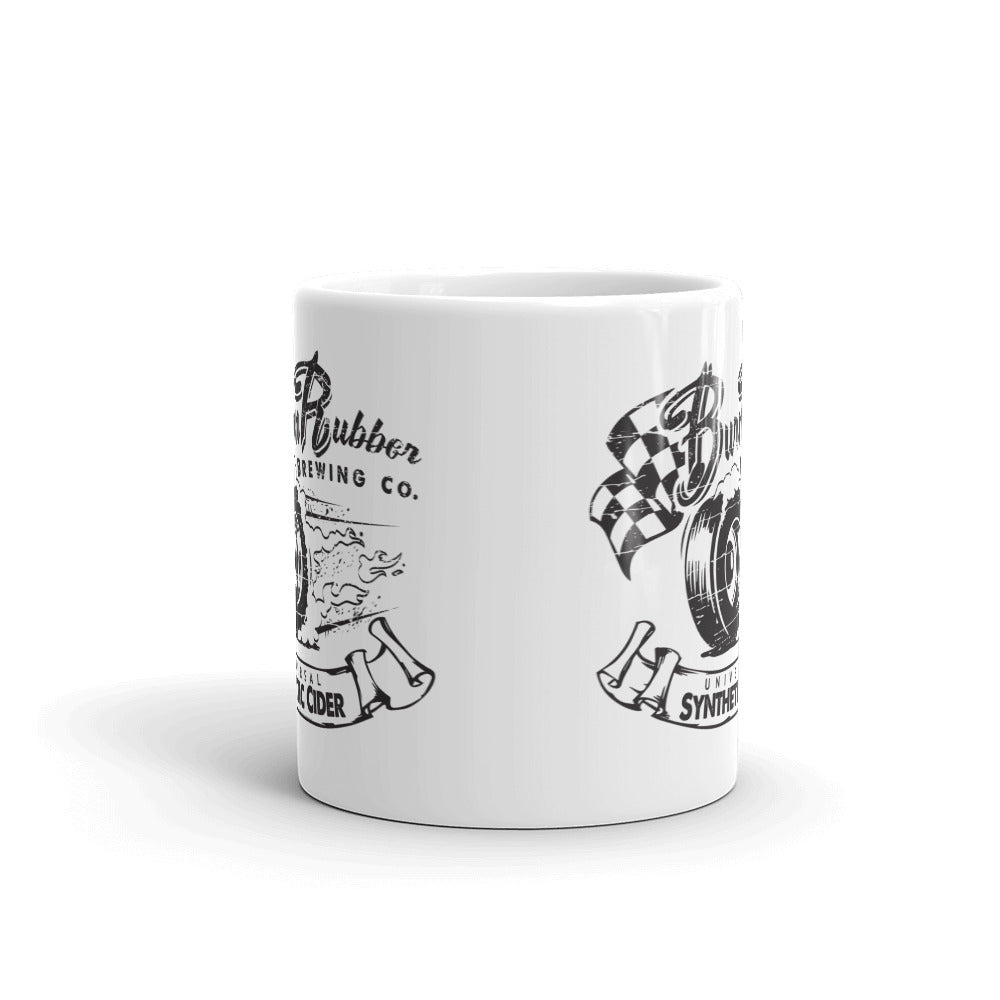 Official Burn Rubber Brewing Mug