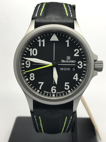 Damasko DA36 Yellow Accents