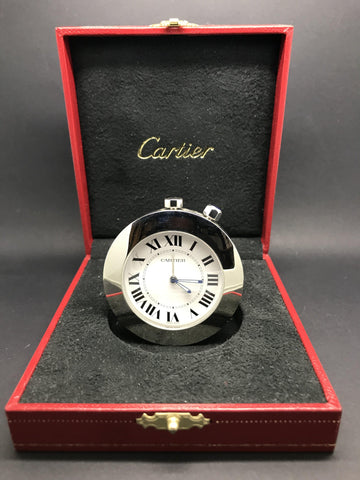 Cartier Travel Alarm