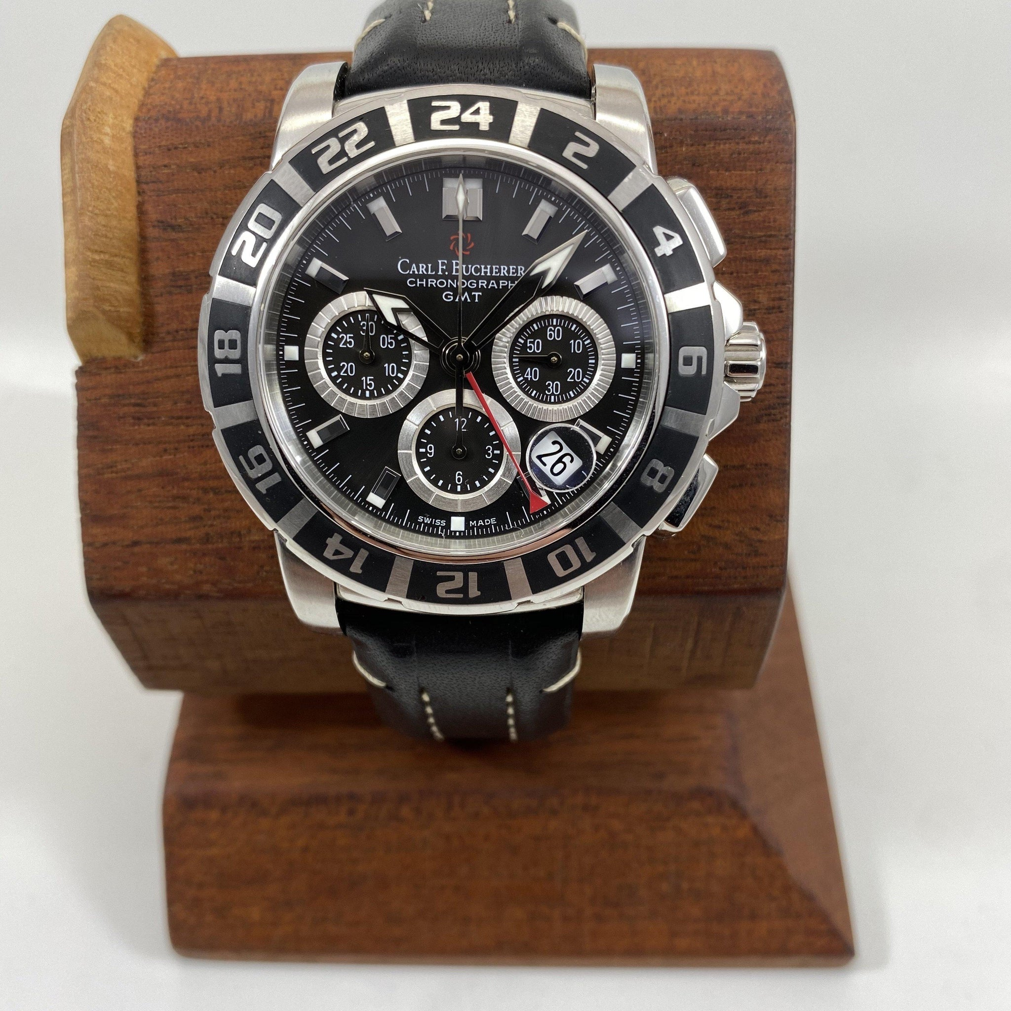 CARL F BUCHERER Patravi GMT