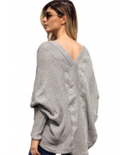 Gray Bohemian Sweater