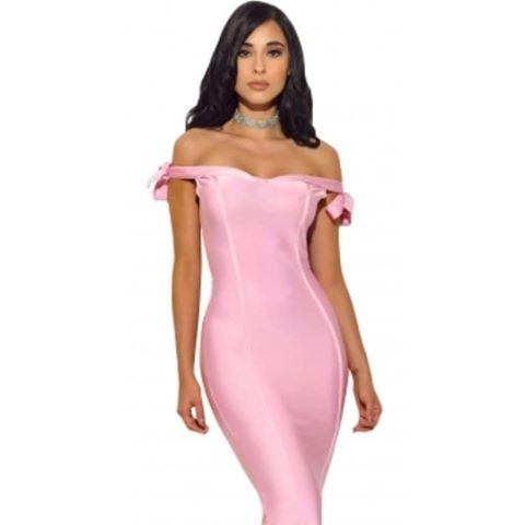 Barbie Pink Bandage Dress
