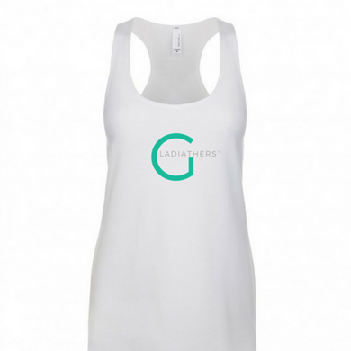 GladiatHers® Racerback White Tank Top