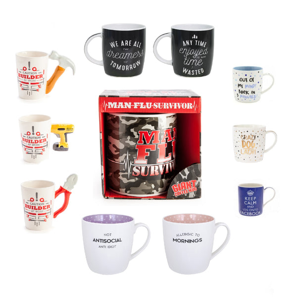 Novelty Cups & Mugs
