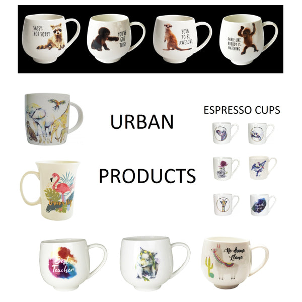 Porcelain Cups & Mugs