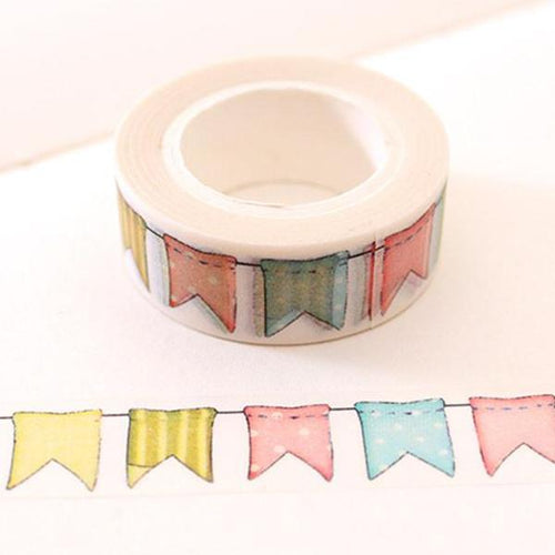 Flag Washi Tape Roll-Washi Whale