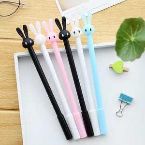 Cute Rabbit Gel Pens (4 Pack)