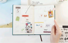 Load image into Gallery viewer, Phrases Planner Stickers (8 sheets)-Washi Whale