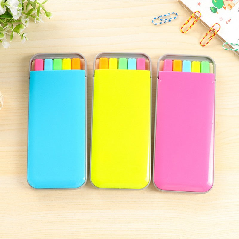 5Pcs Candy Color Highlighters