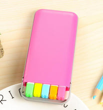 Load image into Gallery viewer, 5Pcs Candy Color Highlighters