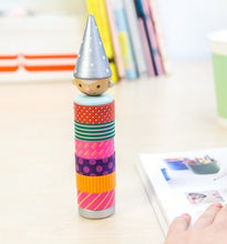 Load image into Gallery viewer, Wooden Gnome Washi Tape Dispenser