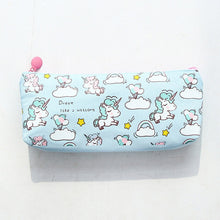 Load image into Gallery viewer, Kawaii Unicorn Pencil Case-Washi Whale