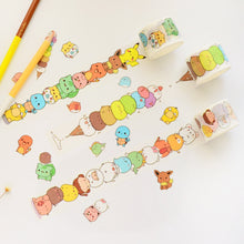 Load image into Gallery viewer, Cartoon Chibi Washi Tape-Washi Whale