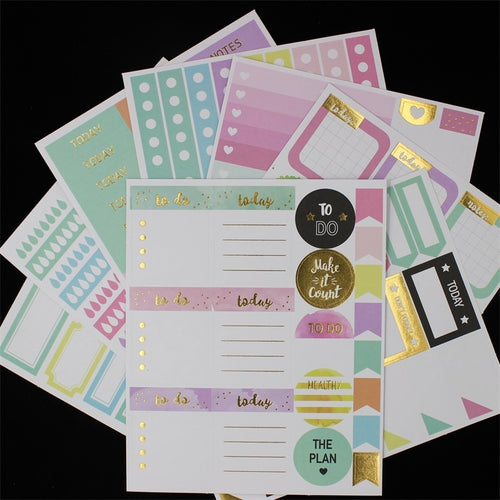 Best Day Ever Stickers-Washi Whale