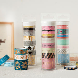 Colorful Foil Washi Tape (10 pack)-Washi Whale