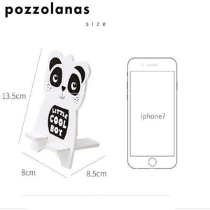 Pozzolanas Universal Animal Mobile Phone Stand-Washi Whale