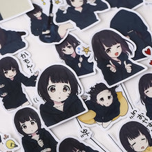 Load image into Gallery viewer, Japanese Menhera-chan Stickers (39 pieces)-Washi Whale