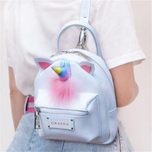 Load image into Gallery viewer, Mini Unicorn Backpack-Washi Whale