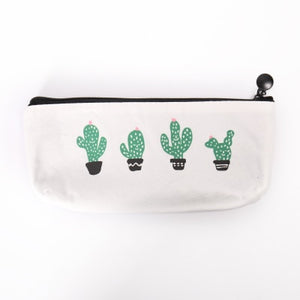 Cactus Pencil Case-Washi Whale